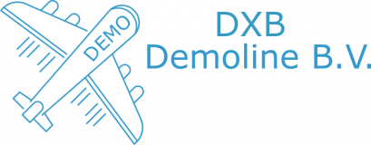 Logo of DXB Demoline